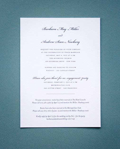 Plus one invite wedding invitations Fashion wedding style blog