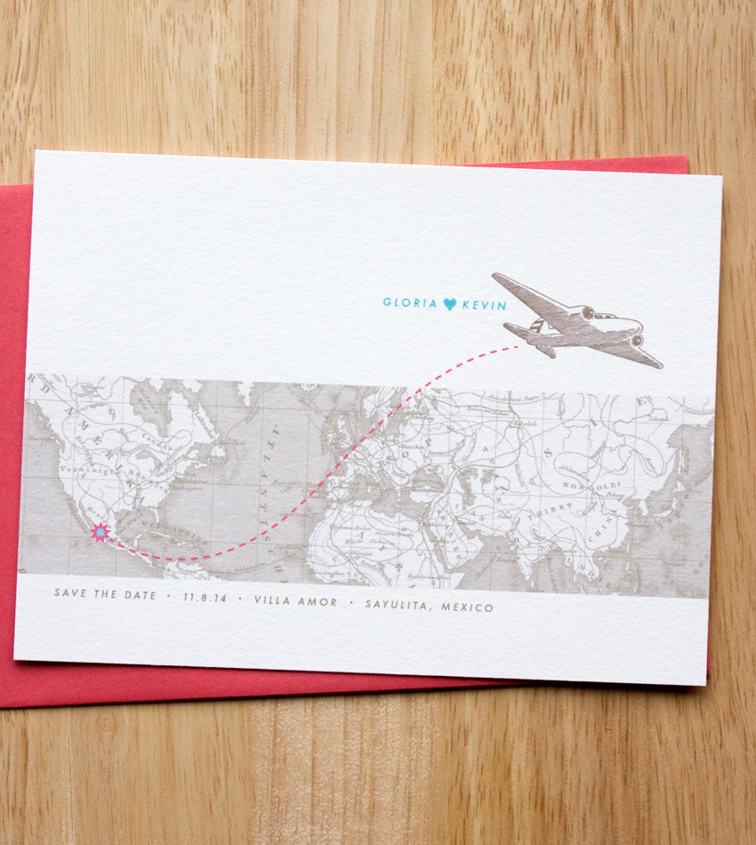 Destination Save the Date by Sweet Penelope